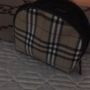 Burberry makeup bag
